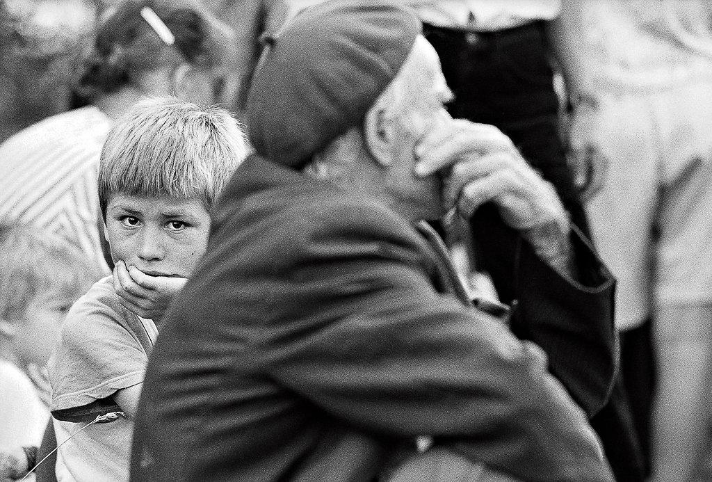 Bosnische Flüchlinge 1995