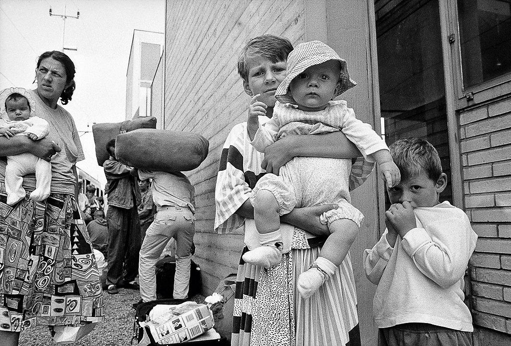 Bosnische Flüchtlinge 1995