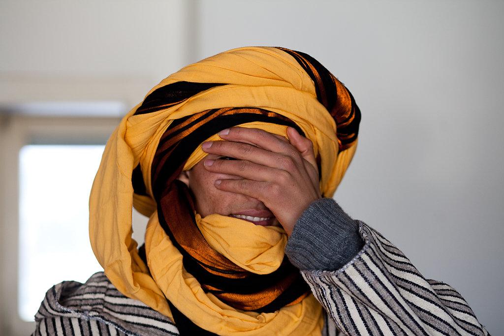 Juba oder Outhou Hamid, ein Flüchtling