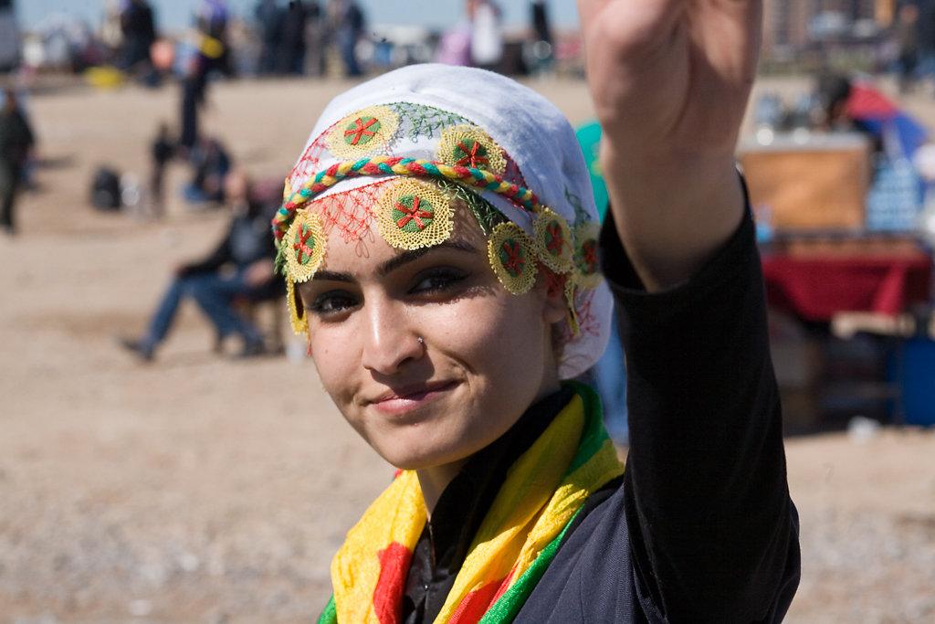 Newroz-Fest, Dyarbakir, Türkei 2010